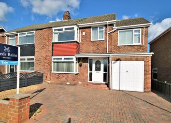 Thumbnail 4 bed semi-detached house for sale in Fairwell Road, Stockton-On-Tees