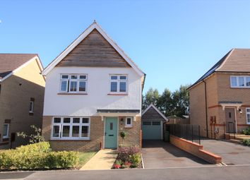 Thumbnail 3 bed detached house for sale in Woodland Drive, Exeter