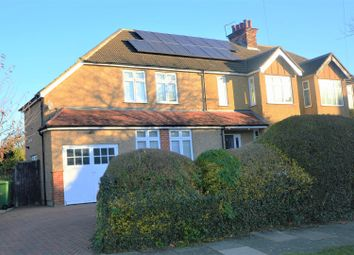 Thumbnail 6 bed semi-detached house for sale in Salisbury Avenue, St.Albans