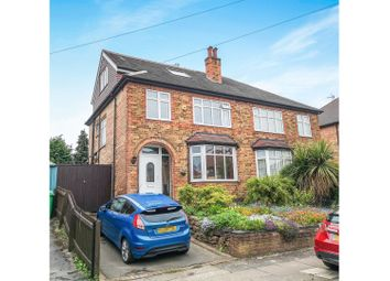 Thumbnail 4 bed semi-detached house for sale in Elvaston Road, Wollaton