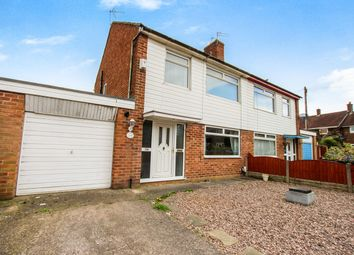 Thumbnail 3 bed semi-detached house for sale in Cliftonville Road, Woolston, Warrington