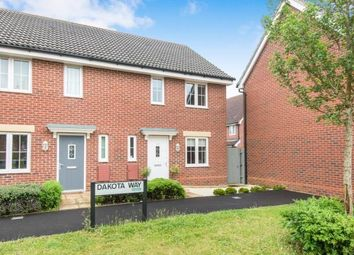 Thumbnail 3 bedroom end terrace house for sale in Dakota Way, Eastleigh
