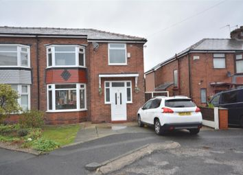Thumbnail 3 bed semi-detached house for sale in Masefield Avenue, Prestwich, Manchester