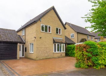 Thumbnail 4 bed detached house for sale in Scotts Close, Hilton, Huntingdon