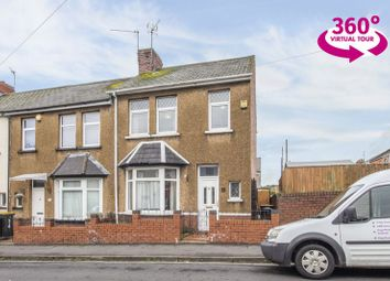 Thumbnail 3 bed end terrace house for sale in Charnwood Road, Newport