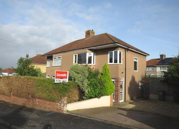 Thumbnail 3 bed semi-detached house for sale in Braemar Crescent, Bristol