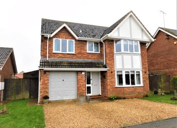 Thumbnail 4 bed detached house for sale in The Laurels, Holbeach, Spalding