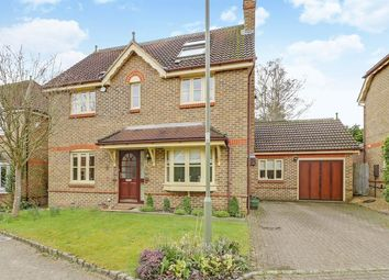 Thumbnail 5 bed detached house for sale in Falcon Close, Lightwater