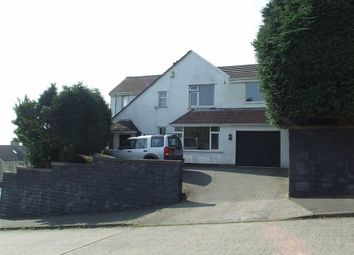 Thumbnail 5 bed detached house for sale in Dunvant Road, Killay, Swansea