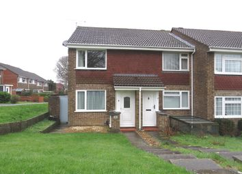 Thumbnail 2 bed end terrace house for sale in Crusader Road, Hedge End, Southampton