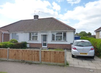 Thumbnail 3 bedroom semi-detached bungalow for sale in Shopping Centre, Corbet Avenue, Sprowston, Norwich