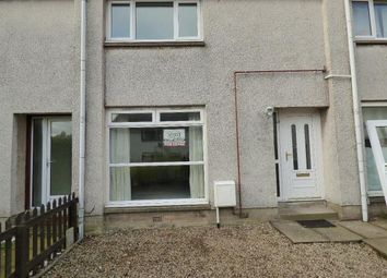 Thumbnail 2 bed terraced house to rent in Restenneth Drive, Forfar