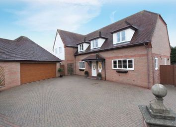 Thumbnail 6 bed detached house for sale in Old Station Court, Blunham, Bedford