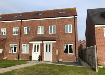 Thumbnail 3 bed terraced house to rent in Dunstanburgh Walk, Amble, Northumberland