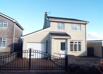 Thumbnail 3 bed detached house for sale in Erw Non, Llannon, Llanelli