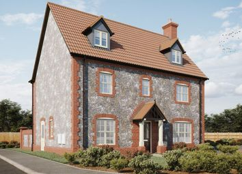 Thumbnail 5 bed detached house for sale in Plot 10, Heath Farm, Holt