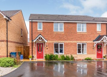 Thumbnail 3 bed semi-detached house for sale in Burbank Burrow, Stafford