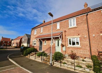 Thumbnail 3 bed terraced house for sale in Trivetts Way, Cossington, Bridgwater