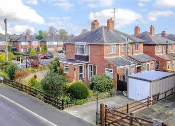 Thumbnail 3 bed semi-detached house for sale in Greenfields Avenue, Harrogate, North Yorkshire