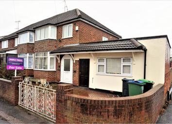 Thumbnail 4 bedroom semi-detached house for sale in Oak Road, West Bromwich