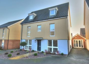 Thumbnail 5 bed detached house for sale in Peacock Grove, Norwich