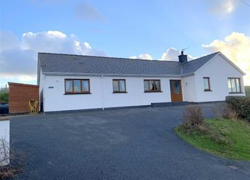 Thumbnail 4 bed detached bungalow for sale in Goitre Road, Aberaeron, Ceredigion