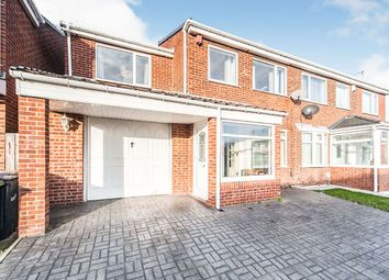 Thumbnail 3 bed semi-detached house for sale in Westray Close, Ryhope, Sunderland, Tyne And Wear
