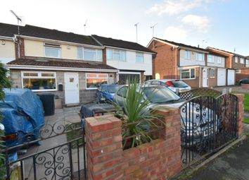 Thumbnail 3 bed town house for sale in Wroxall Way, Stadium Estate, Leicester