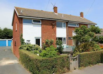 Thumbnail 3 bed semi-detached house for sale in Hythe Crescent, Seaford
