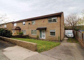 Thumbnail 3 bed semi-detached house for sale in Llys Corrwg, Rhydyfelin, Pontypridd