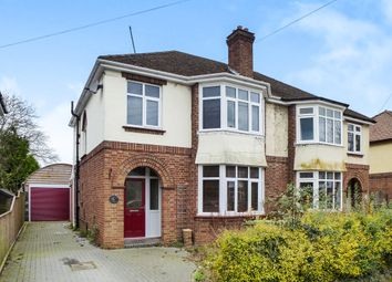 Thumbnail 3 bedroom semi-detached house for sale in Sandringham Avenue, Wisbech