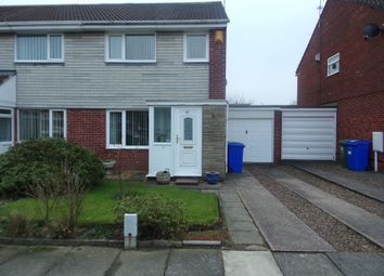 Thumbnail 3 bed semi-detached house for sale in Bromley Gardens, Blyth