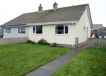 Thumbnail 2 bed semi-detached house for sale in Woodside Crescent, Nairn