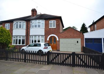 Thumbnail 3 bed semi-detached house for sale in Brinsmead Road, Leicester