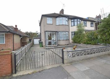 Thumbnail 3 bed semi-detached house for sale in Caterham Avenue, Clayhall, Essex