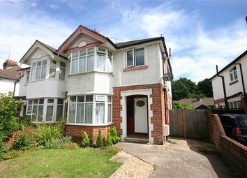 Thumbnail 3 bed semi-detached house to rent in Dale Valley Road, Shirley, Southampton