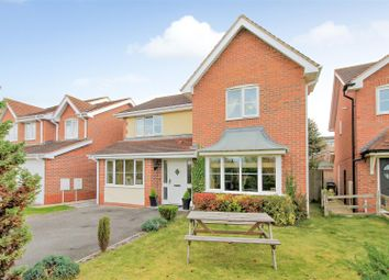 Thumbnail 4 bed detached house for sale in Bankfield Drive, Hereford