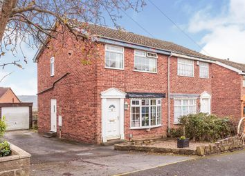 Thumbnail 3 bed semi-detached house for sale in Russell Close, Heckmondwike