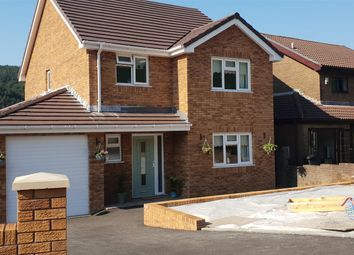Thumbnail 3 bed detached house for sale in Parc Pen Y Bryn, Goytre, Port Talbot
