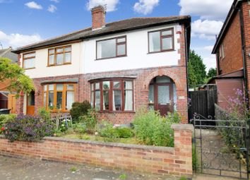 Thumbnail 3 bedroom semi-detached house for sale in Gainsborough Road, Knighton, Leicester