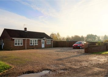 Thumbnail 3 bedroom detached bungalow for sale in Smeeth Road, Wisbech
