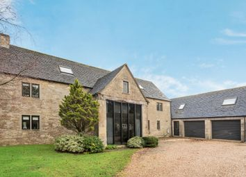 Thumbnail 5 bed barn conversion for sale in Poole Keynes, Cirencester