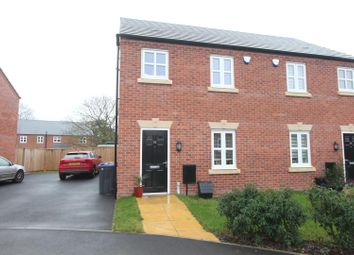 Thumbnail 3 bed semi-detached house for sale in Ryelands Crescent, Stoke Golding, Nuneaton