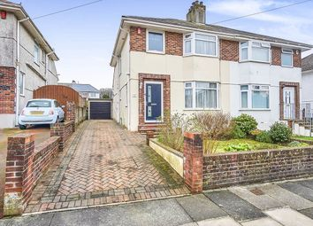 Thumbnail 3 bed semi-detached house for sale in Scott Road, Plymouth