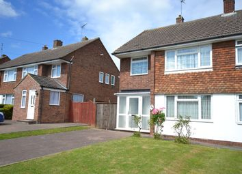 Thumbnail 3 bed semi-detached house for sale in Canuden Road, Chelmsford