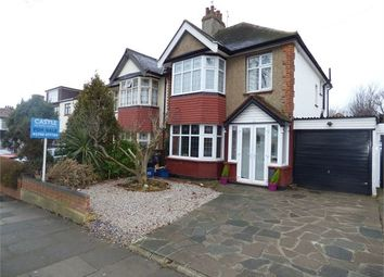 Thumbnail 3 bed semi-detached house for sale in Elmsleigh Drive, Leigh On Sea, Leigh On Sea