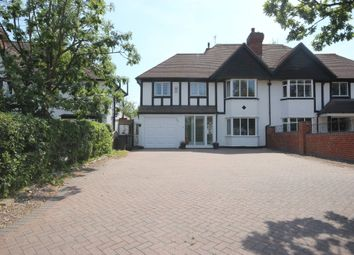 Thumbnail 4 bedroom semi-detached house for sale in Streetsbrook Road, Shirley, Solihull