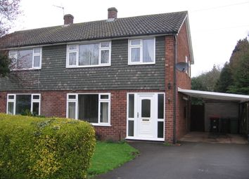3 bed semi-detached house to rent in Mentone Crescent, Edgmond, Newport, Shropshire TF10