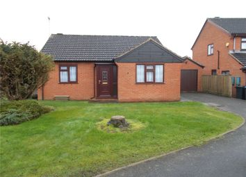 Thumbnail 2 bed detached bungalow for sale in Chandler Way, Broughton Astley, Leicester, Leicestershire