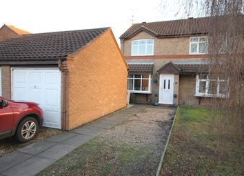 Thumbnail 2 bed semi-detached house for sale in Catkin Way, Balderton, Newark, Nottinghamshire.